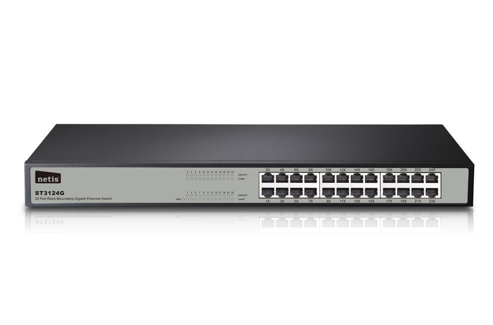 Mecer Ethernet Switch Hub 24 Port