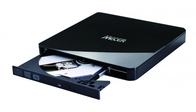Mecer USB 2.0 Slim External Optical Disc Drive – Mecer