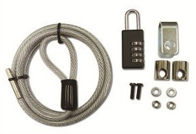 Mecer 4 Dial PC Cable Lock