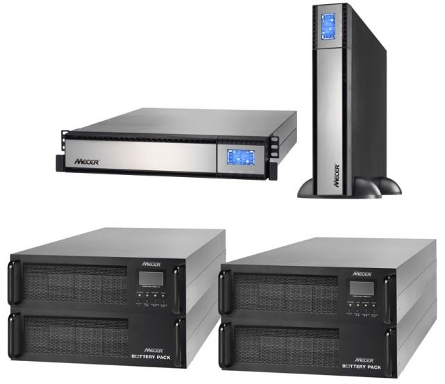 Mecer Online SINE WAVE Rackmountable UPS