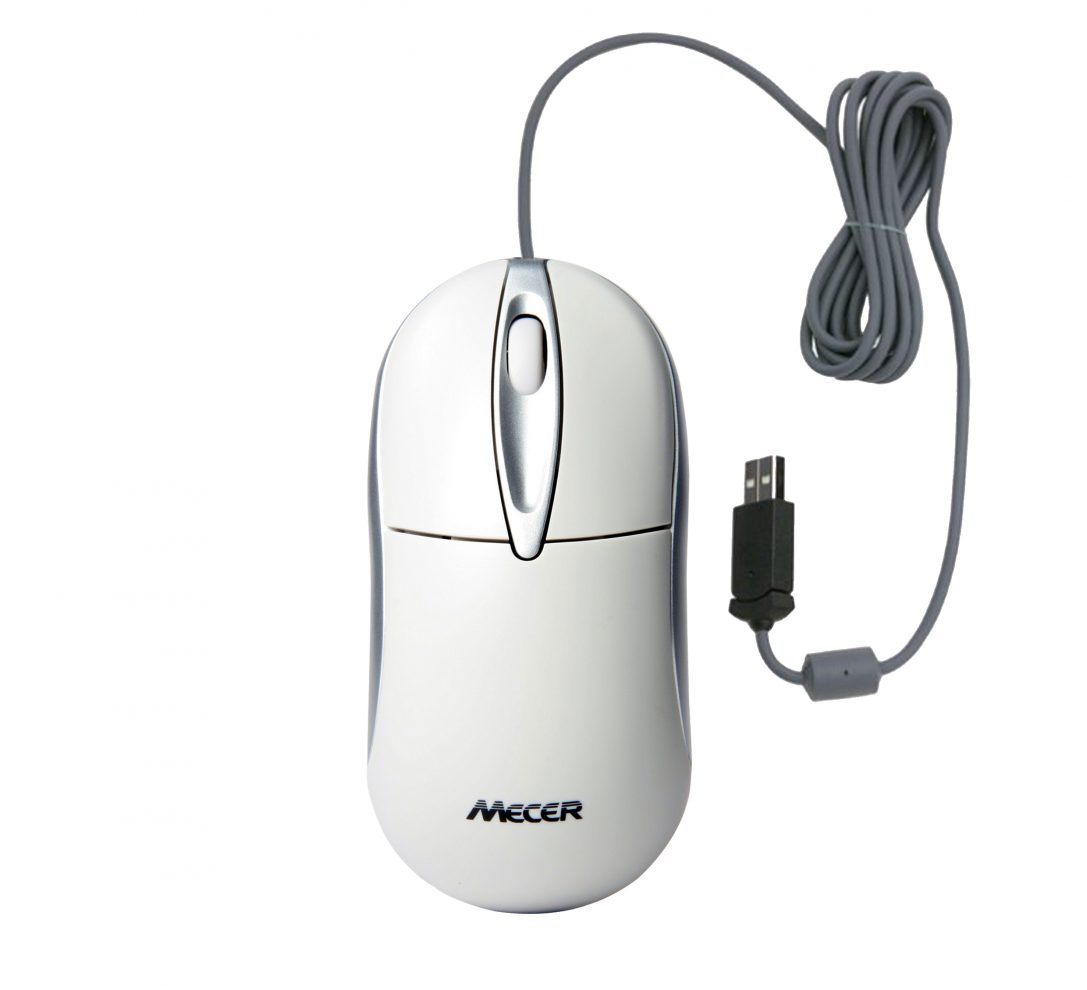 Mecer Optical Wheel PS2 Mouse